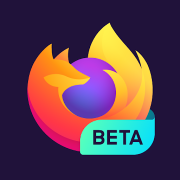 Firefox for Android Beta logo