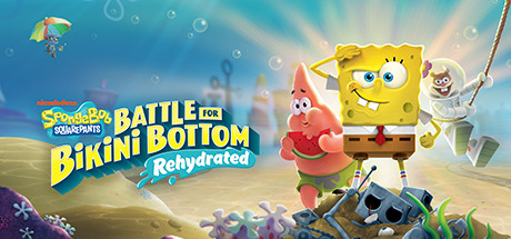 SpongeBob SquarePants: Battle for Bikini Bottom - Rehydrated logo